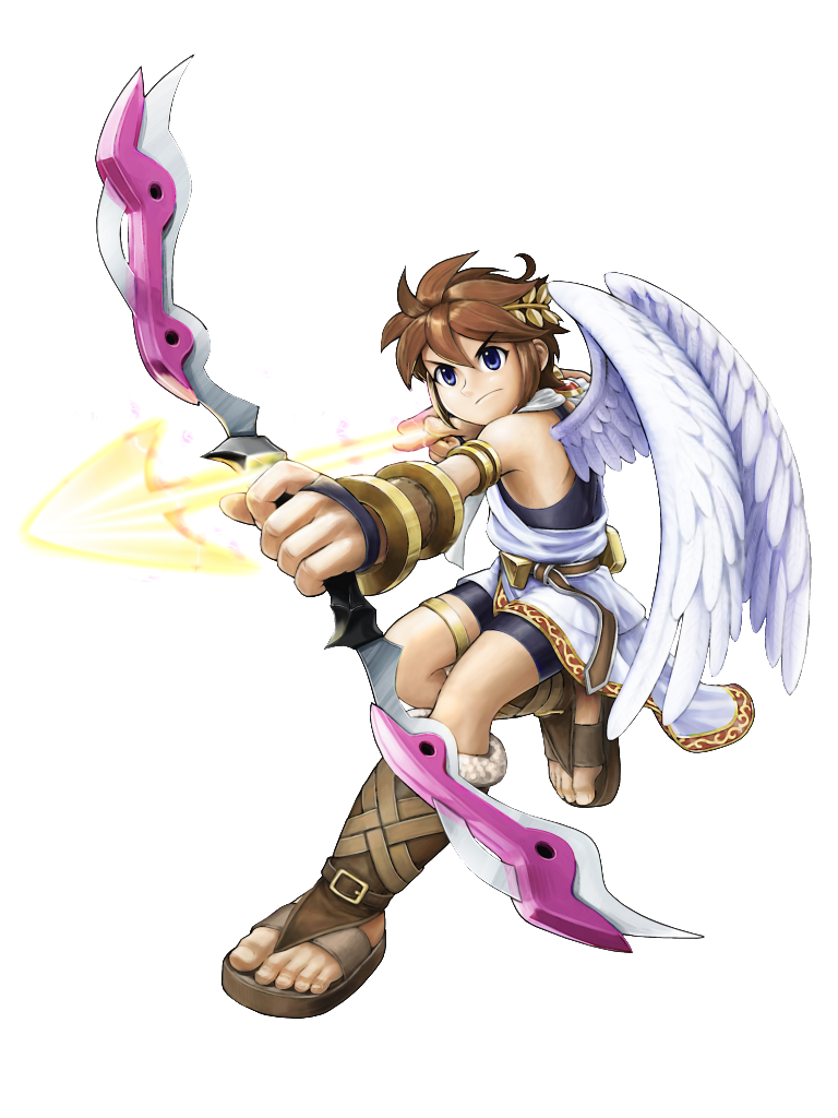 Kid Icarus Uprising Imagery Lvls